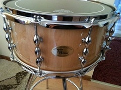 The First Ordered Snare Drum